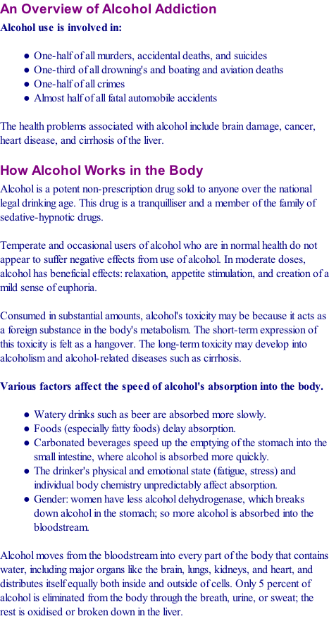 effects of alcoholism on family essay The disease of alcoholism and addiction is a family disease and affects everyone help and support in finding healthy ways to overcome the negative effects of the.